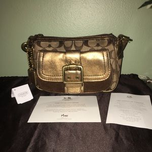 Authentic Coach Signature Purse